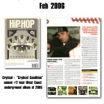 Crytical in Hip-Hop Connection (UK) - Feb 2006