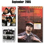 Crytical in Hip-Hop Connection (UK) - Sept 2005